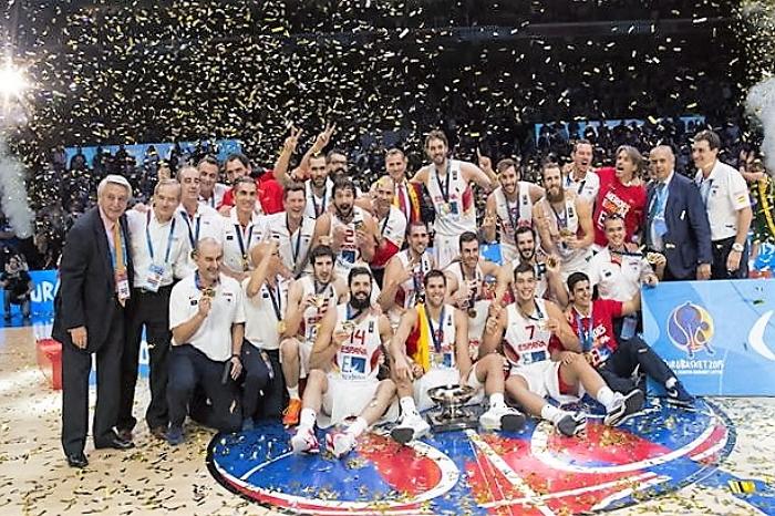 España reconquista el oro en el Eurobasket de Francia