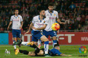 El Real Zaragoza ya es el menos goleado de segunda división