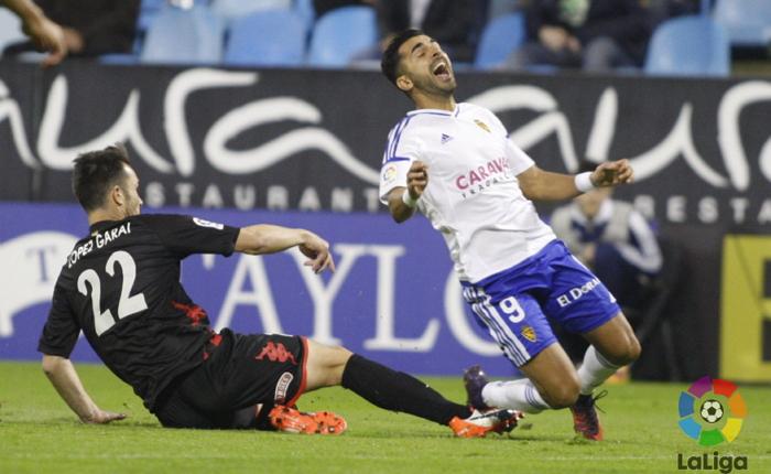 ¿Qué jugador actual del Real Zaragoza ya marcó y ganó al Cadiz?