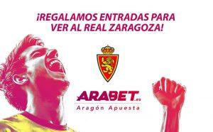 Arabet regala entradas para ver el Real Zaragoza – Alcorcón