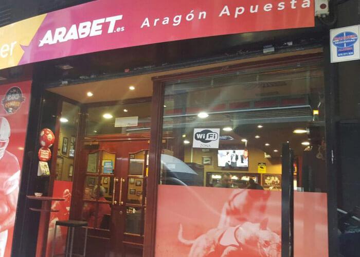 Calle Avila Zaragoza, Locales Arabet