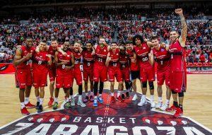 Arabet regala entradas para ver el partido de 'play off' del Basket Zaragoza contra el Barcelona