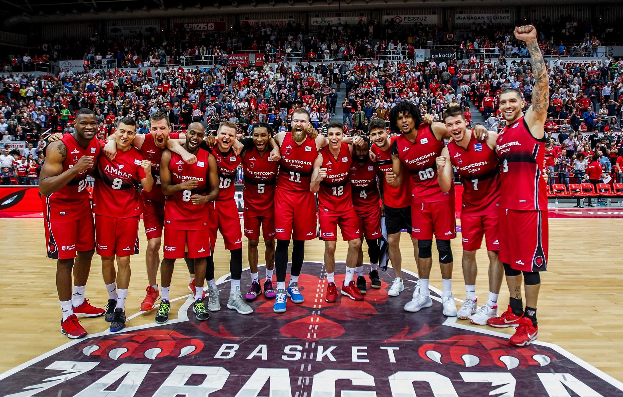 Arabet regala entradas para ver el partido de 'play off' del Basket Zaragoza contra el Baskonia