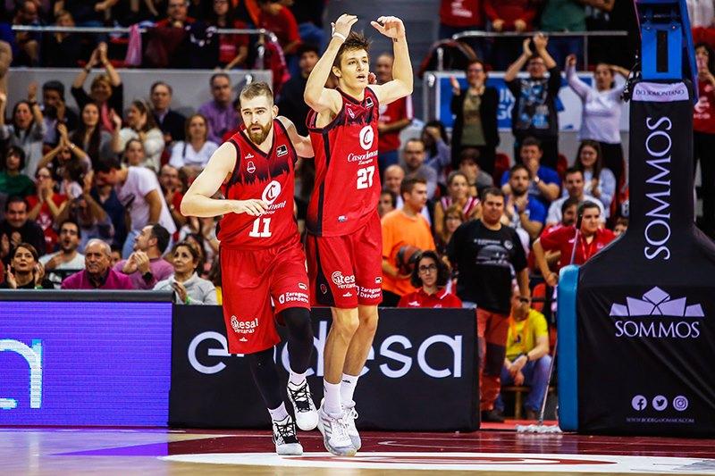 Arabet regala entradas para ver el partido del Basket Zaragoza contra el Joventut